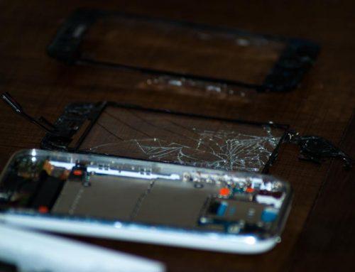 Réparer une vitre d'Iphone cassée