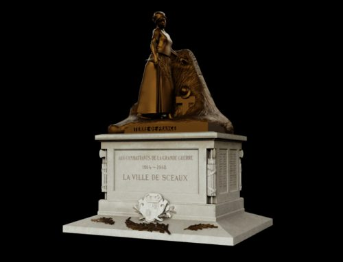 Modélisation 3d : statue