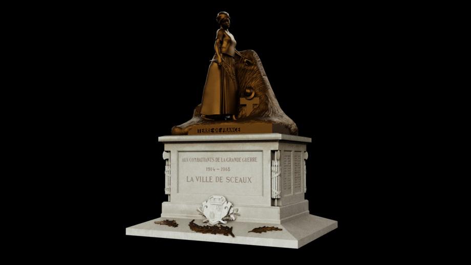 Statue ville de Sceaux
