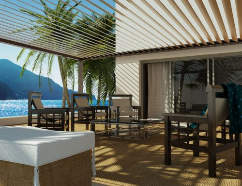 Visualisation 3d – Pergola