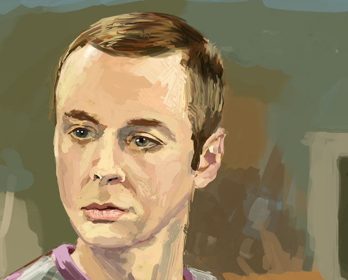sheldon cooper speed art