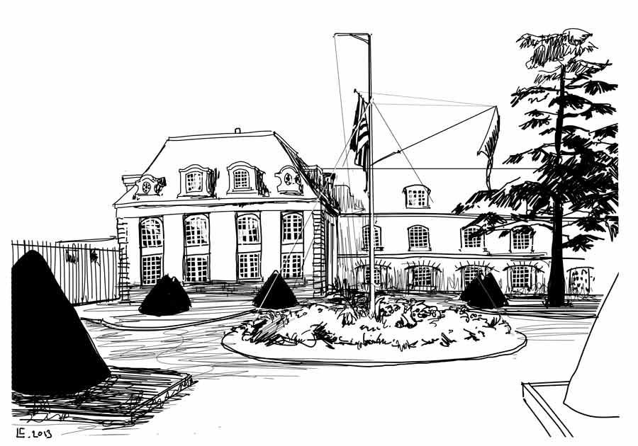 hotel gabriel en dessin
