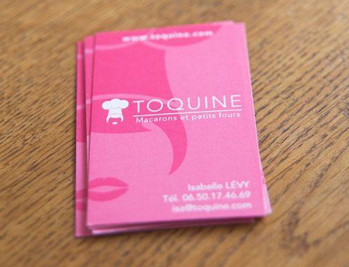 Logo et cartes de visite Toquine