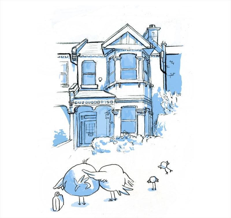 dessin à Londres