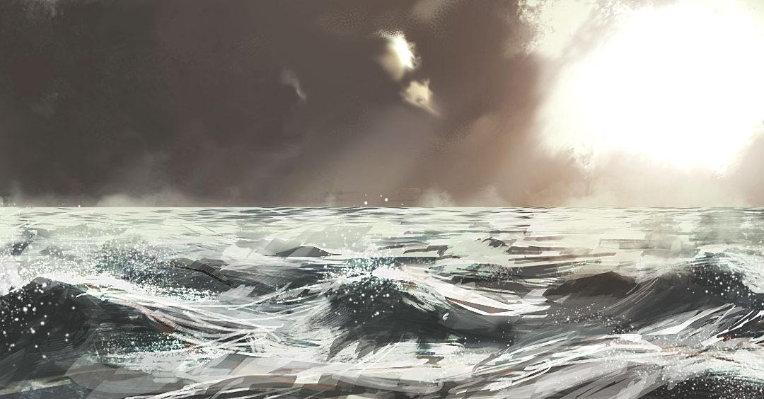 eau, air, lumière