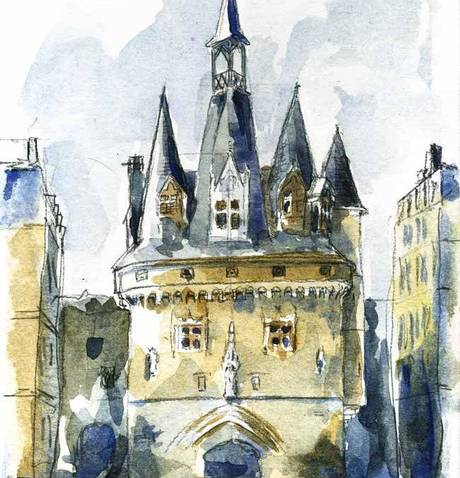La Porte Cailhau à Bordeaux, étude