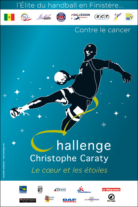 affiche challenge Caraty version bleue