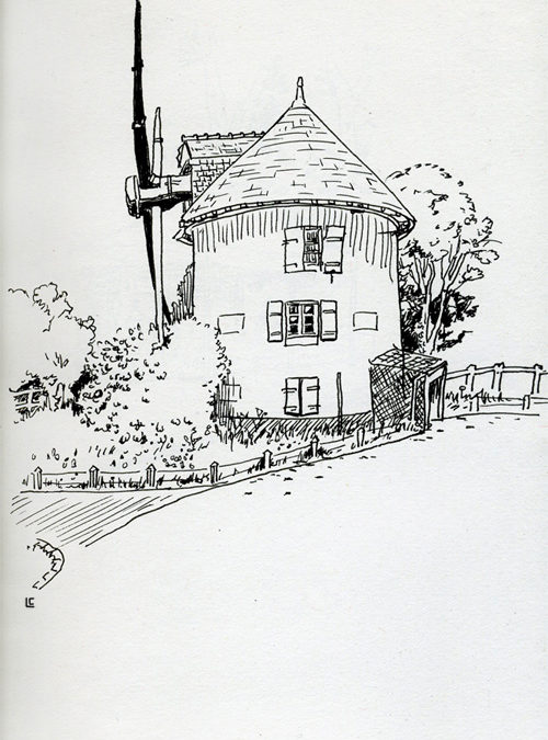 Moulin de la colline du Faouëdic