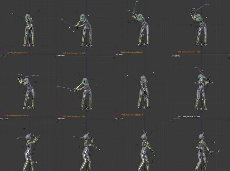Swing animation
