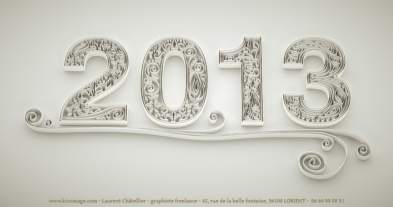meilleurs vœux 2013