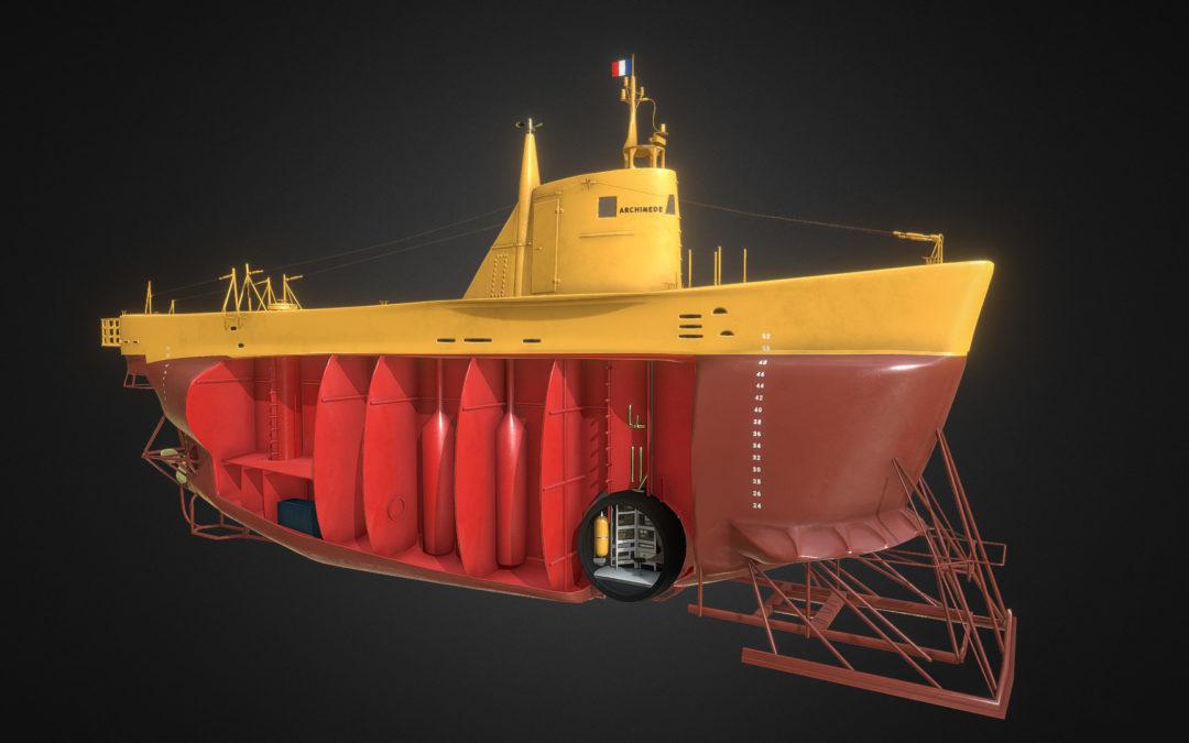Assets 3D pour l'institut Océanographique de Monaco