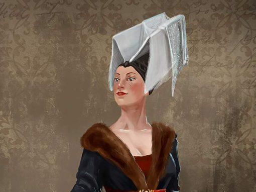 Illustration de vêtement historique