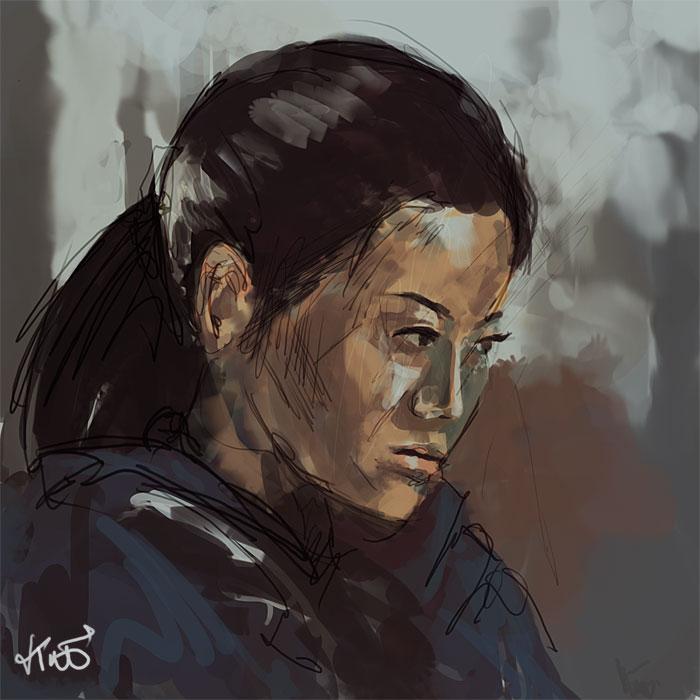 spead painting