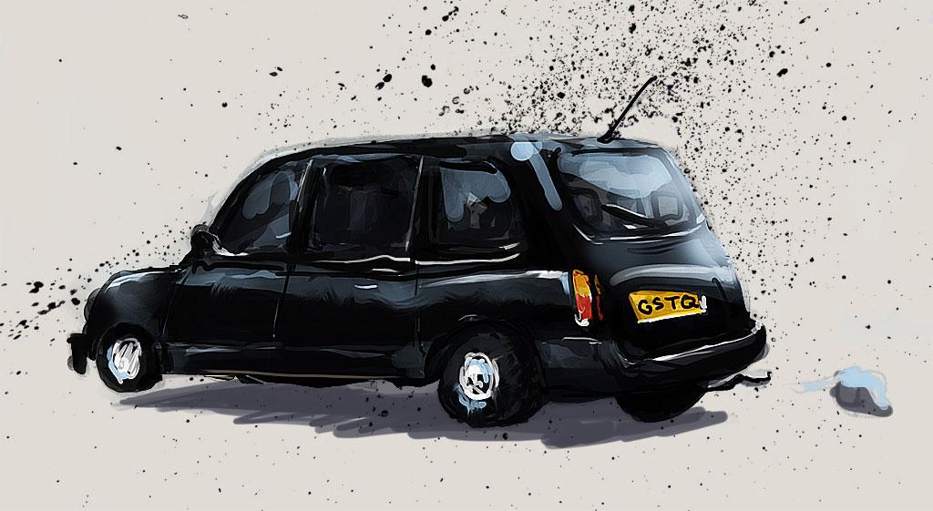 british cab